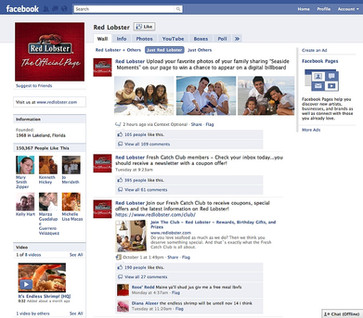 Red Lobster Facebook Page