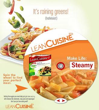 Lean Cuisine Interactice Wheel