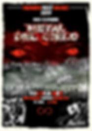 Poster Heaven Fest Music 2019 METAL DEL