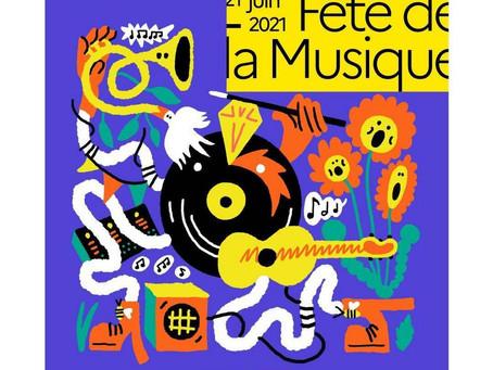 Fête de la musique le 30 juin