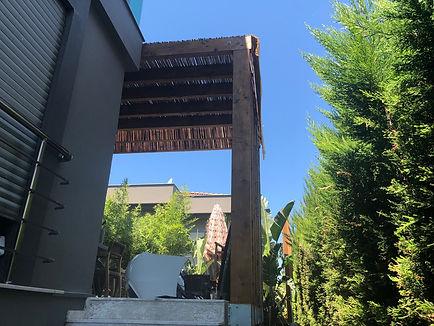 Tantimber Thermowood Ahşap İzmir Güzelbahçe Proje Çalışmları 2