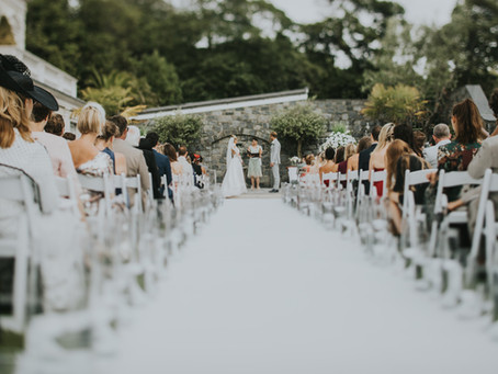 Olivia and Bart's epic destination wedding in Guernsey