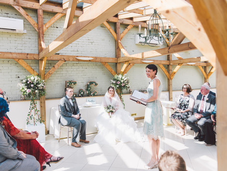 An unconventional wedding poem about love and commitment