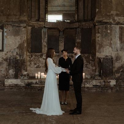 Wedding at The Asylum, London based cele