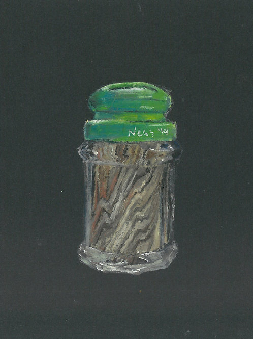Toothpick Oil Painting