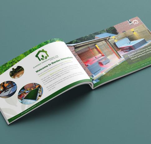 Client 16 Page Coloured Brochure