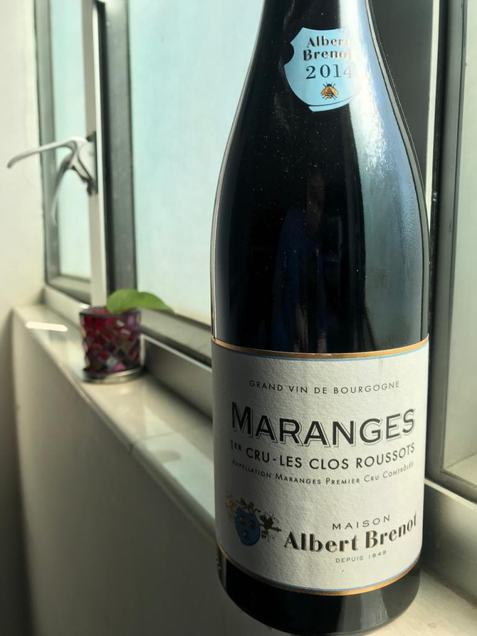 Albert Brenot Maranges 1er Cru 'Les Clos Roussots' 2014