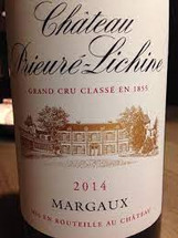 Chateau Prieurie Lichine 2014, Margaux 4th