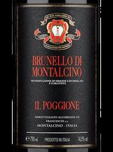 Il Poggione Brunello di Montalcino 2011, 2012, 2013, 2014 and 2016