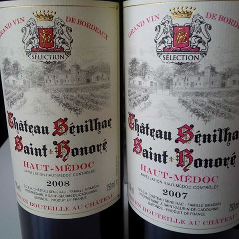 Chateau Senilhac 2007 and 2008, Haut Medoc CB