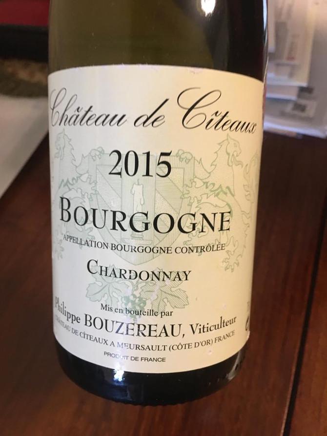 Philippe Bouzereau Chateau de Citeaux Bourgogne Chardonnay 2015