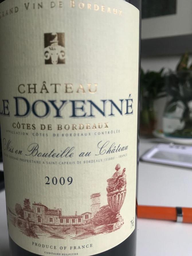 Chateau Doyenne 2009