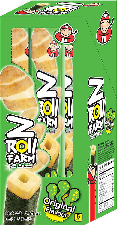 Z Roll Original2.54 oz (72g – 12g x 6pcs)