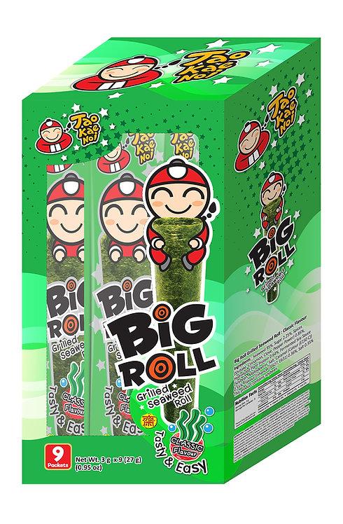 Big Roll Grilled Seaweed Original0.95 oz (27g- 3g X 9pcs)