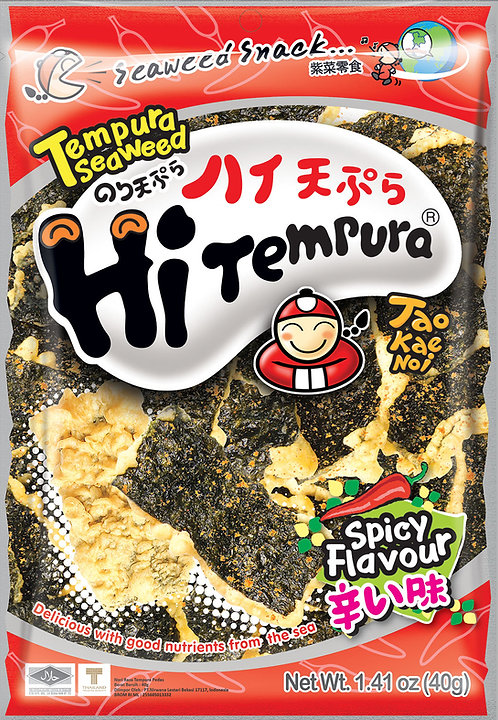 Tempura Seaweed Spicy 1.41 oz (40g)