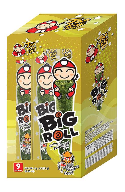 Big Roll Grilled Seaweed Grilled Squid0.95 oz (27g- 3g X 9pcs)
