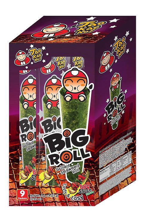 Big Roll Grilled Seaweed BBQ 0.95 oz (27g- 3g X 9pcs)