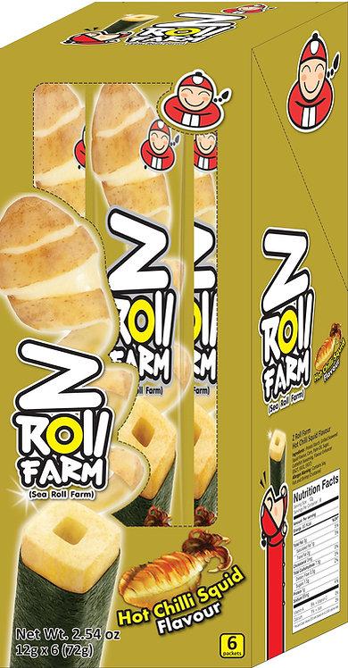 Z Roll Hot Chilli Squid 2.54 oz (72g – 12g x 6pcs)