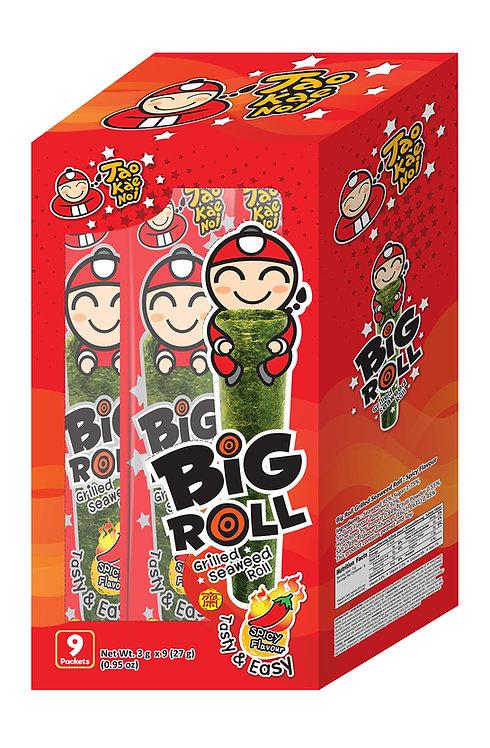 Big Roll Grilled Seaweed Spicy0.95 oz (27g- 3g X 9pcs)
