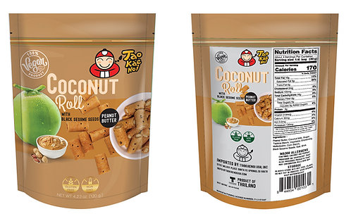 Coconut Roll Peanut Butter 4.23 oz (120g)