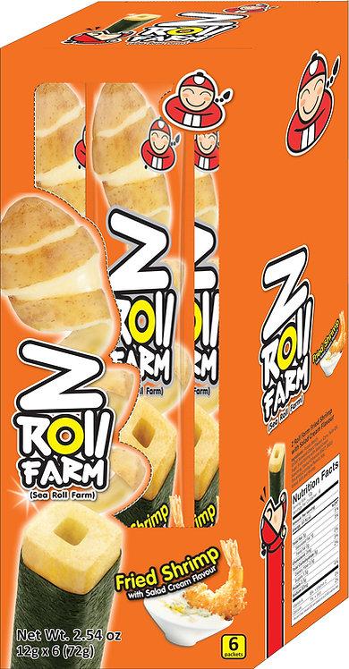 Z-Roll Fried Shrimp With Salad Cream2.54 oz (72g – 12g x 6pcs)