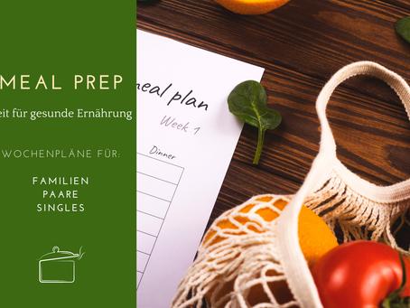 MealPrep Pläne für Familien, Paare und Singles