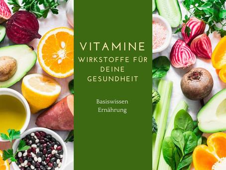 Basiswissen Ernährung- Vitamine
