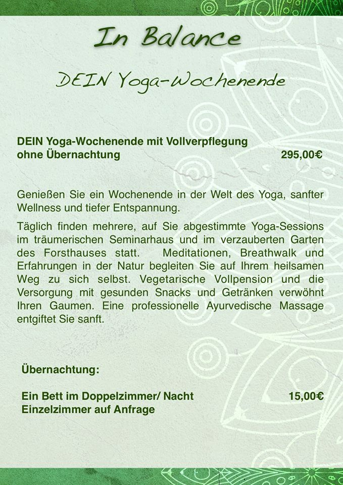 Dein Yoga Retreet