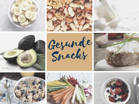 Snacks gegen Heißhunger