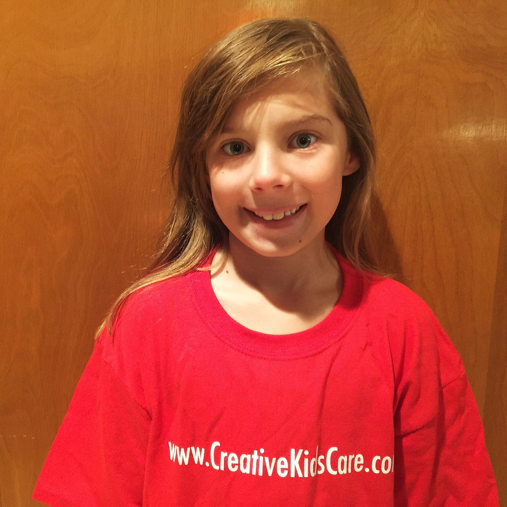 Aurelia, 8, Founder and President of the Illinois Chapter