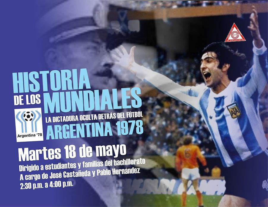 HISTORIA DE LOS MUNDIALES - ARGENTINA 19