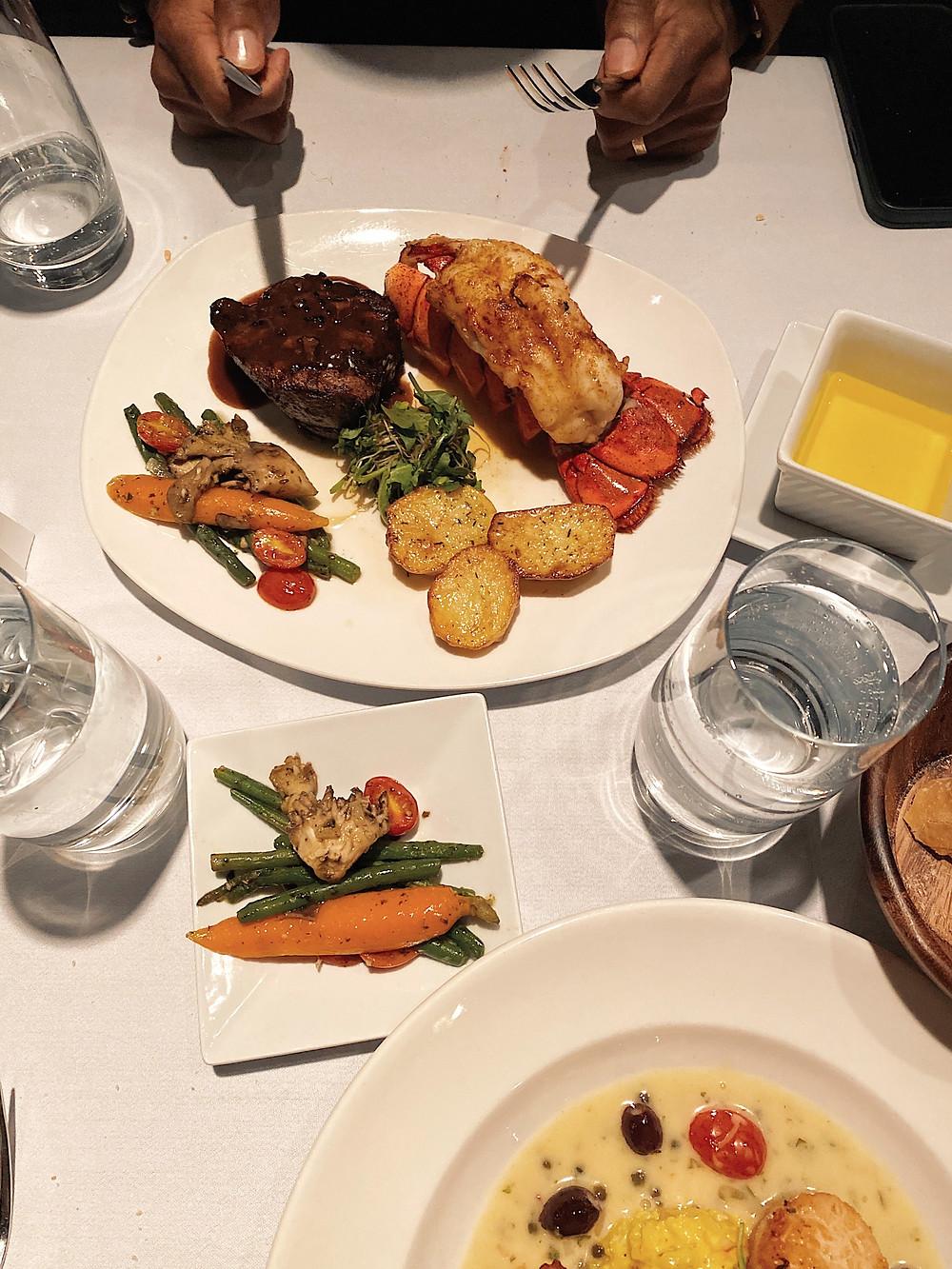 dinner, macon, christians, fine, cuisine, birthday dinner