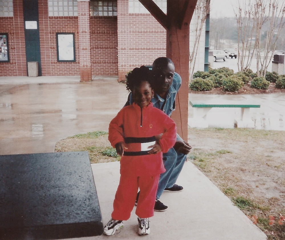 father-and-daughter, black-parents