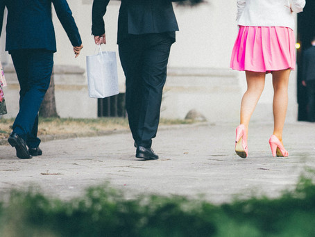 Daring to be Pink in a Sea of Suits