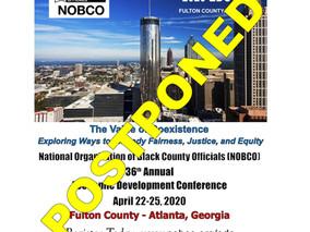 NOBCO Response to COVID-19 Coronavirus Pandemic – Postponement of the 36th Annual Economic Developme