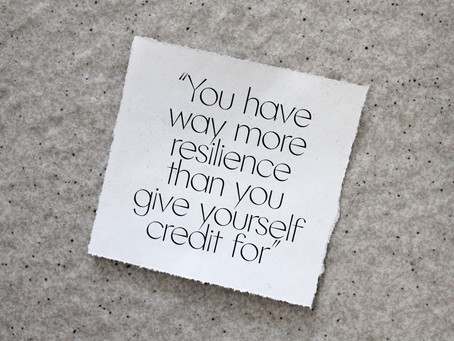 The Art of Resilience: Your Greatest Bounce Back Potential
