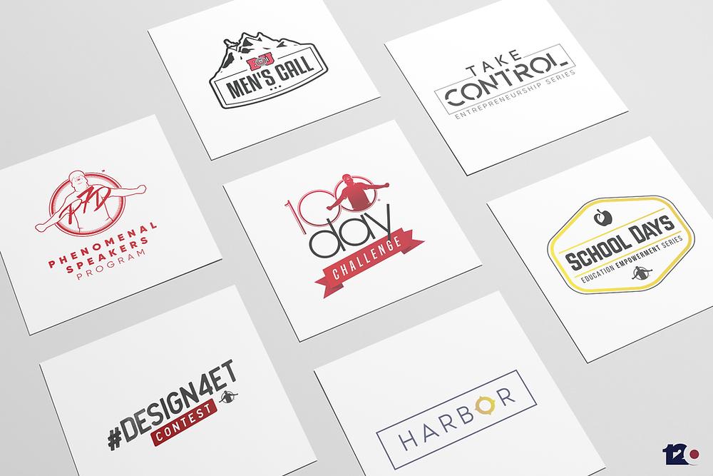 Pictures of ETA Initiative Logos
