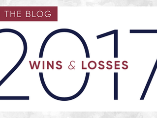 2017 Wins & Losses