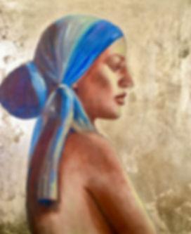 Woman in a blue headdress.jpeg