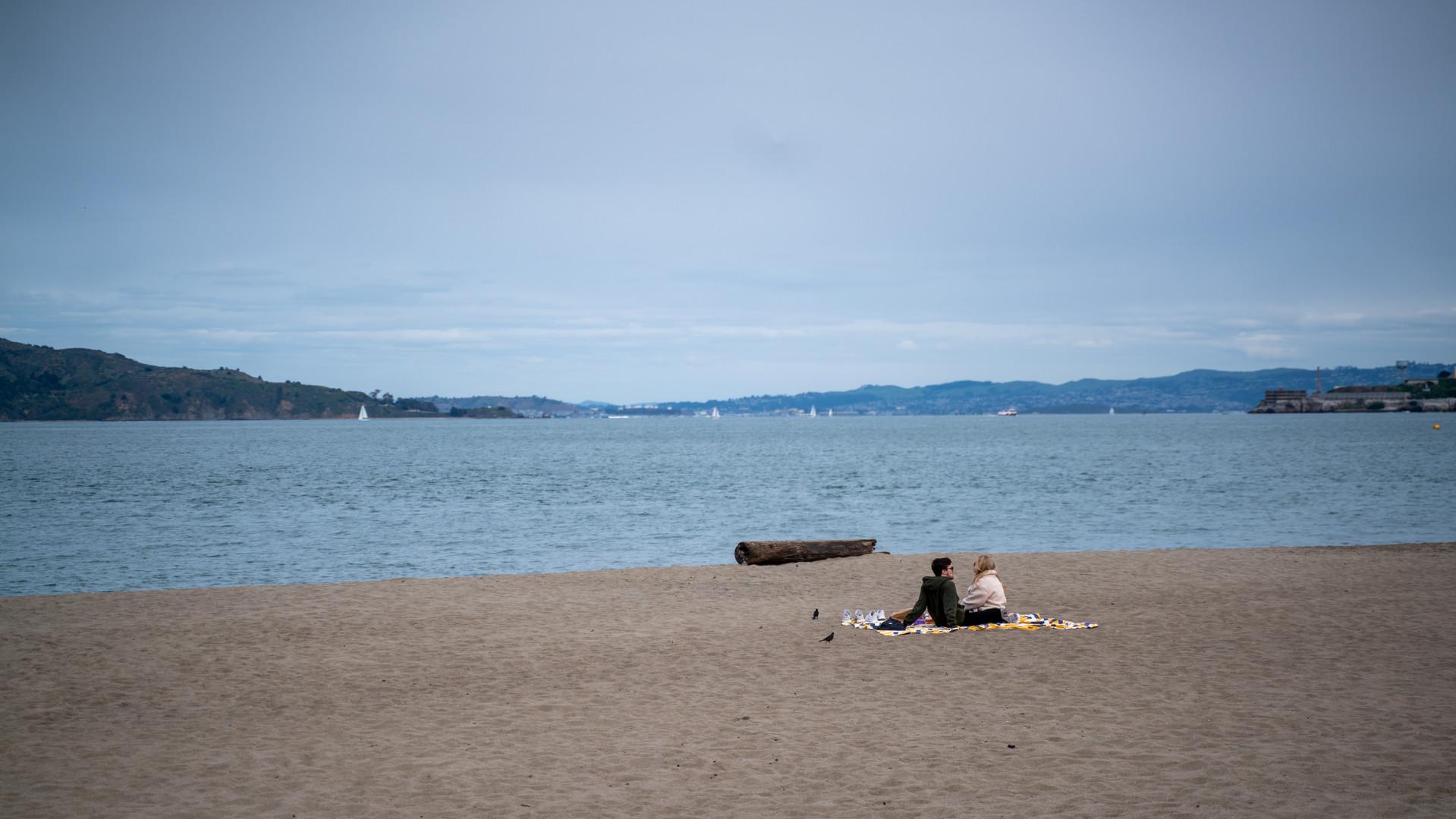 We own the beach