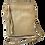 Thumbnail: Crossbody Leather Tassel Handbag, Taupe