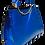 Thumbnail: Tote Handbag, Blue
