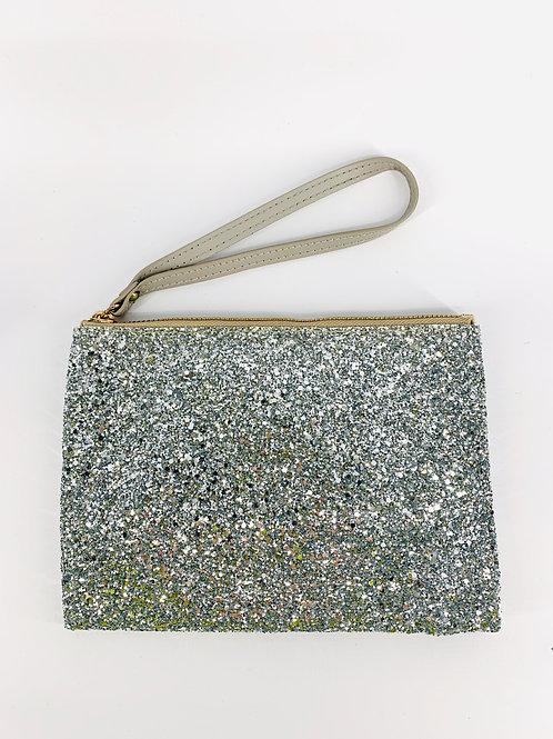 Glitter Clutch Purse