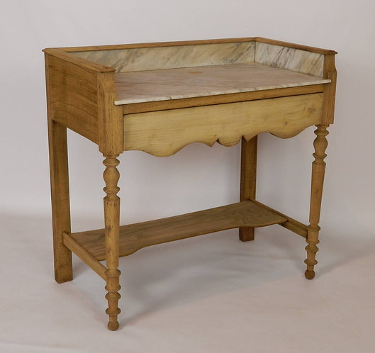 Bleached Oak Washstand