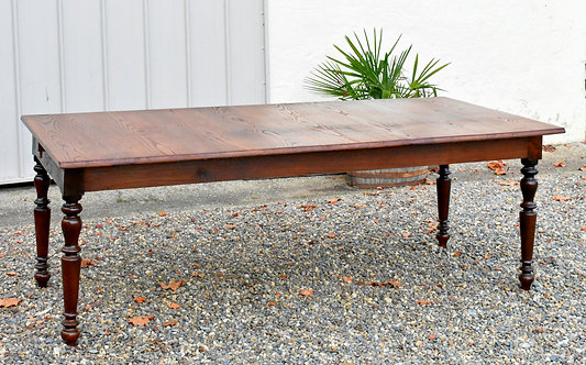 Antique French Oak Farmhouse Table