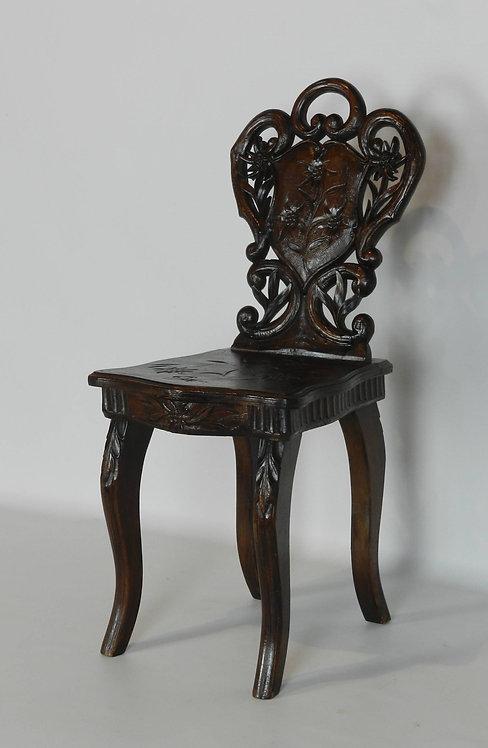 Small Antique Musical Chair