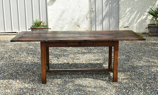 Antique French Oak Refectory Table