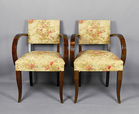 Pair of French 1940 Bridge Chairs
