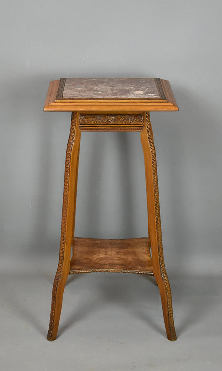 Antique French Side Table Sellette