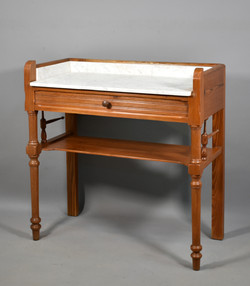 Antique French Pine Washstand